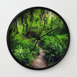 Rainforest Trail Wall Clock