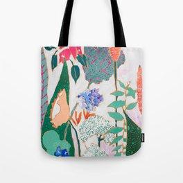 Speckled Garden Tote Bag