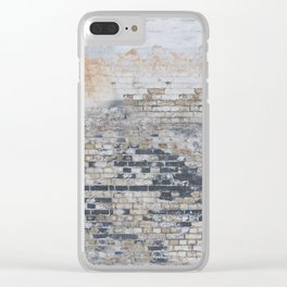 Old Bricks Clear iPhone Case
