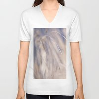 grass V-neck T-shirts featuring Grass by LaiaDivolsPhotography