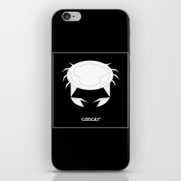 Cancer ~ Zodiac series iPhone Skin