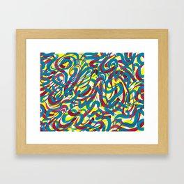 Hiatus 10 Framed Art Print