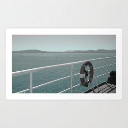 Anchored Art Print