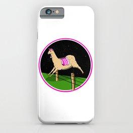 Llama dreamer iPhone Case
