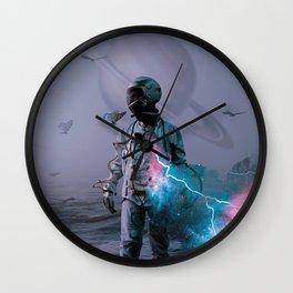 Astro Collusion Wall Clock