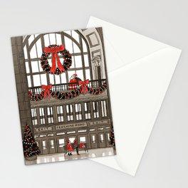Union Station Santa Stationery Cards