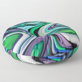 Twisted 1 Floor Pillow