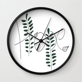 Hope (Hebrews 6:19) Wall Clock