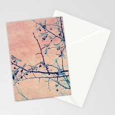 winter whispers Stationery Cards