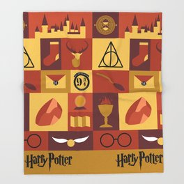 Potter Throw Blanket