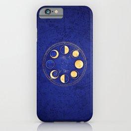 Celestial Atlas :: Lunar Phases iPhone Case