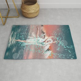 Everly, Goddess of Ice and Wind Rug