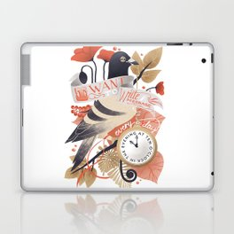 I Want The World To Stop Laptop & iPad Skin