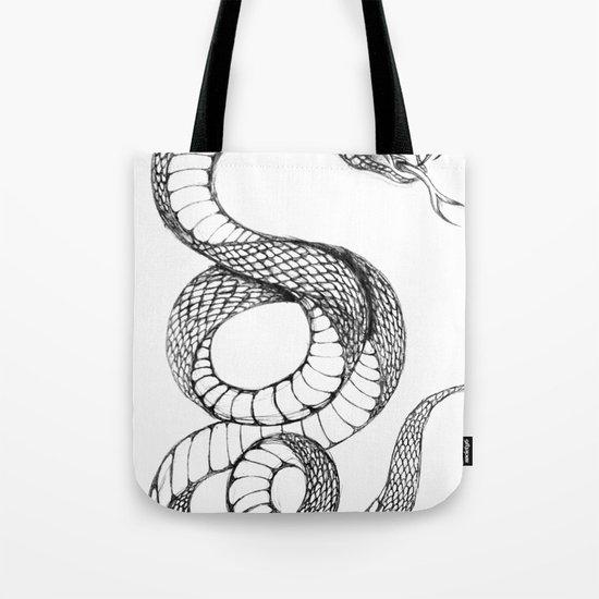 snake 02 Tote Bag