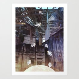 Swing Shift Enters Art Print