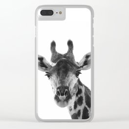 Giraffa camelopardalis Clear iPhone Case