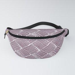 Lavender Weave Fanny Pack