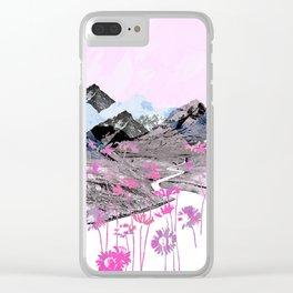 Daisy Mountain Clear iPhone Case