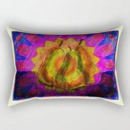 Three Pears Rectangular Pillow