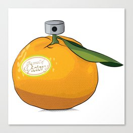 Tangerine: the Smell of Victory Canvas Print