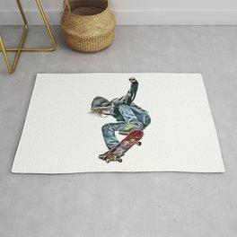 Skateboarder Rug