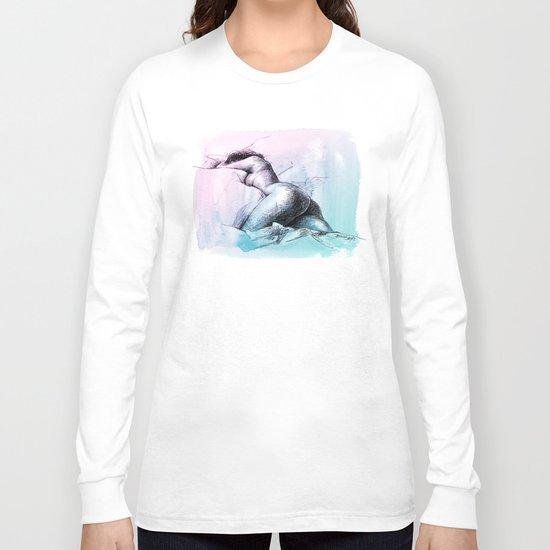 Nude female 3 Long Sleeve T-shirt