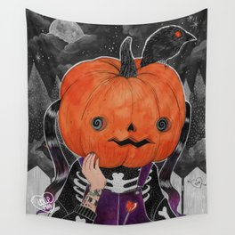 GOSH! I'M A PUMPKIN! Wall Tapestry
