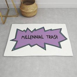 Millennial Trash Rug