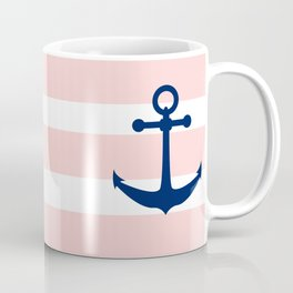 AFE Nautical Navy Ship Anchor Coffee Mug