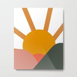Landscape Horizon Metal Print