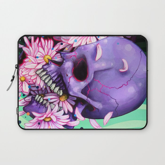 Pushing Up Daisies painting Laptop Sleeve