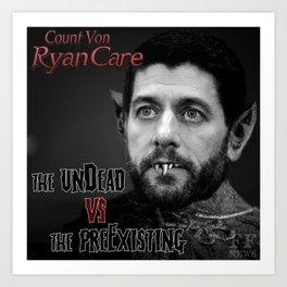 Count Von Ryan Care Art Print