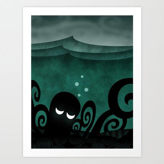 Ocean Concerto Art Print