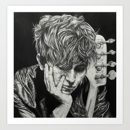 In the Shadows Art Print