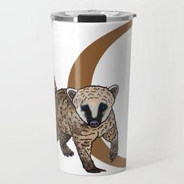 C for Coati Travel Mug