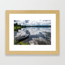 Tranquility At Its Best - Alaska Framed Art Print