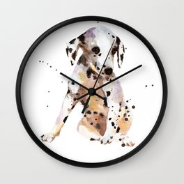 Spotted Simon Wall Clock