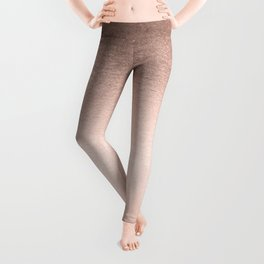 Moon Dust Rose Gold Leggings