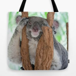 Can't keep my eyes open Tote Bag