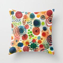 little dot Throw Pillow