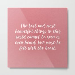 About Love... Metal Print