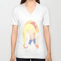 sailor venus V-neck T-shirts featuring Sailor Venus by Polvo