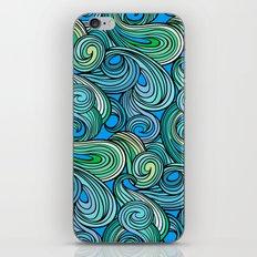 Stylized Boho Wave Pattern iPhone & iPod Skin