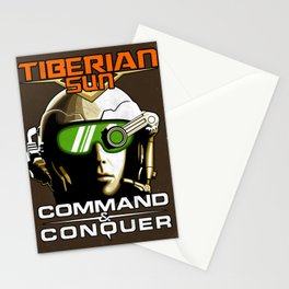 Tiberian Sun Commander Stationery Cards