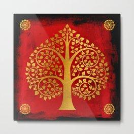 Bodhi Tree0109 Metal Print