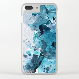 On My Shoulders Clear iPhone Case