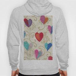 Vintage Hearts Hoody