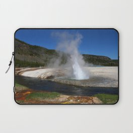 Thermal And Geyser Field Yellowstone NP Laptop Sleeve