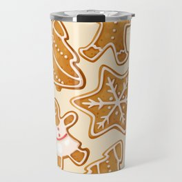 Gingerbread Cookies & Candy Canes Travel Mug