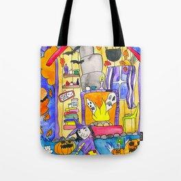 Witch Hut Tote Bag